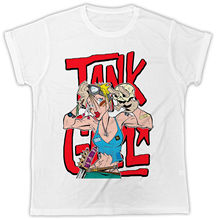 TANK GIRL COMICS SKULL IDEAL BIRTHDAY GIFT DESIGNER SHORT SLEEVE MENS T SHIRT New Shirts Funny Tops Tee Unisex