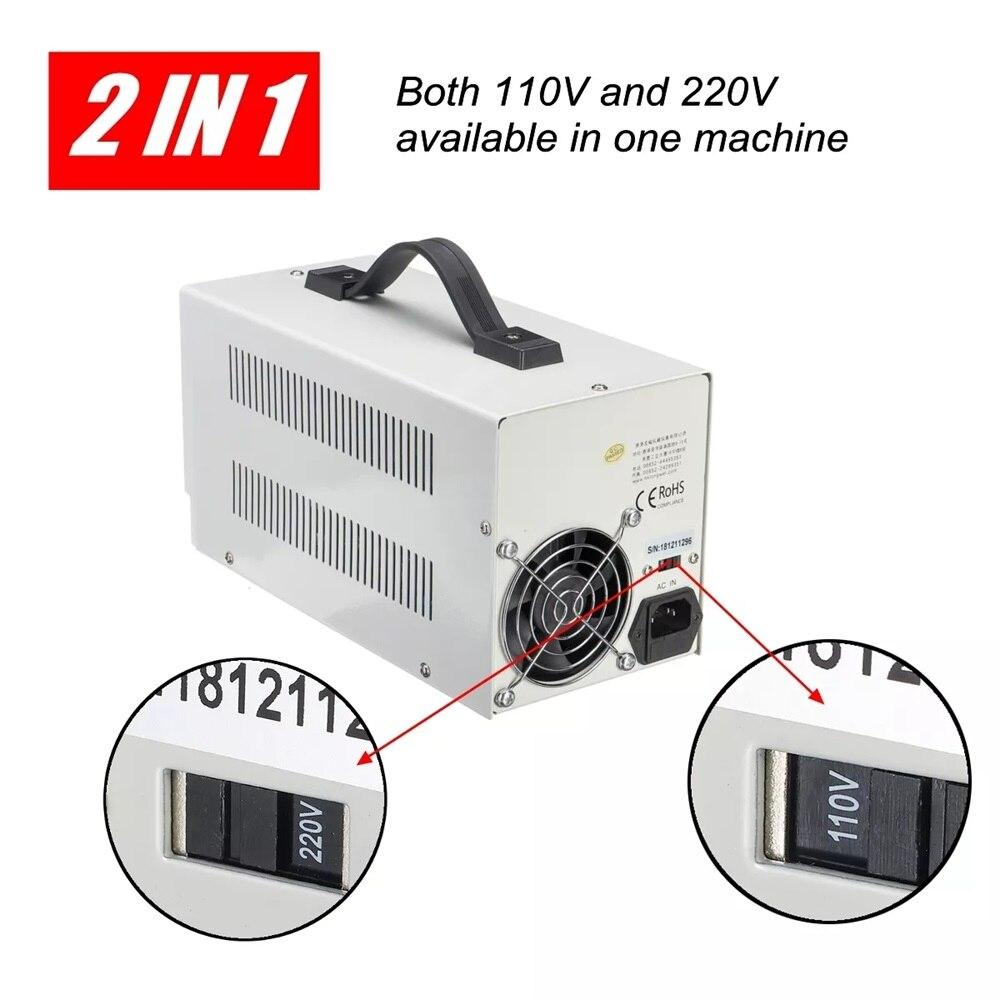30V 10A alimentation réglable Mini DC tension actuelle régulateur de tension 220V 110V entrée Led affichage numérique laboratoire alimentation - 3