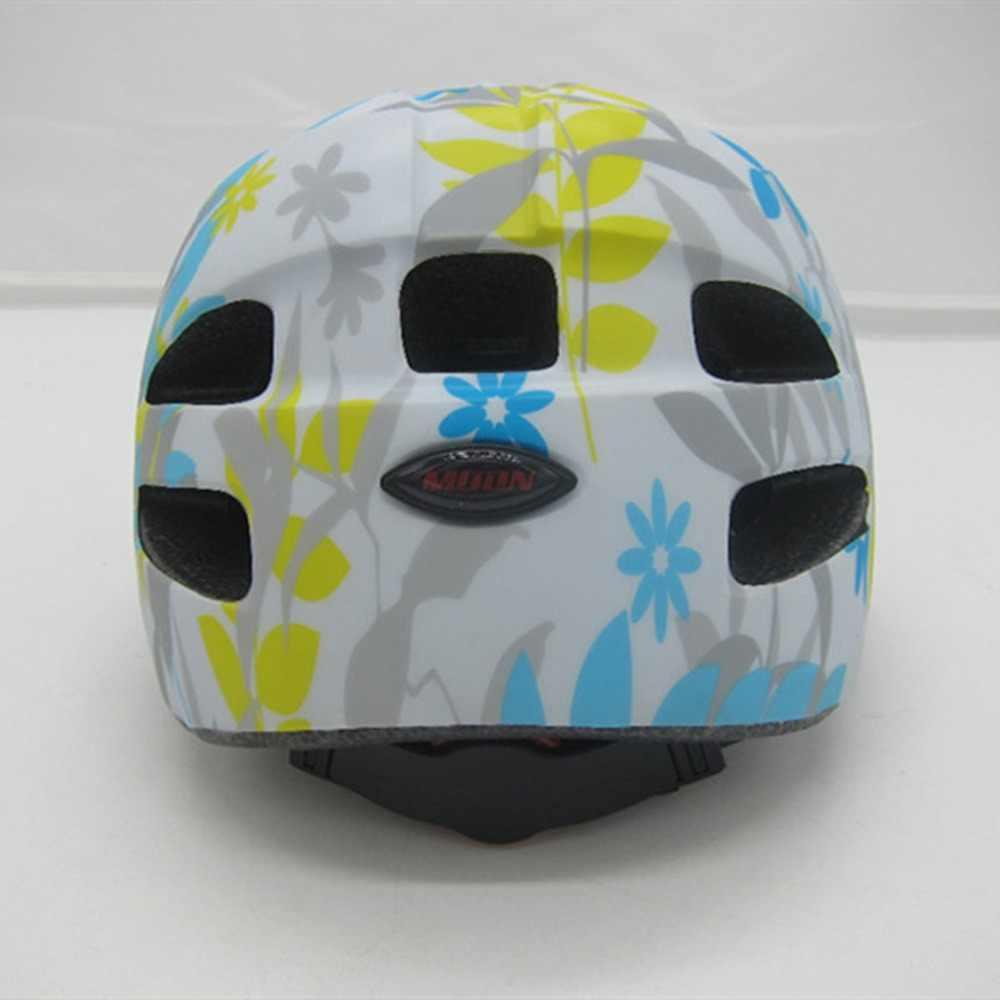 Луна мультфильм детские велосипедные шлемы EPS оформление включено MBT безопасность оборудования протектор роликовых коньках велосипедные шлемы a40