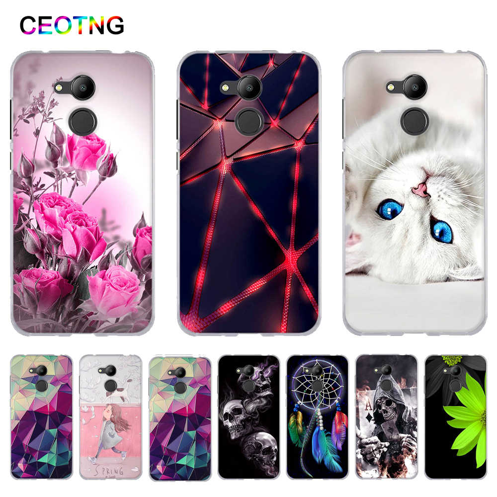 for Huawei Honor 6A Case Soft Silicone Back Coque Funda for Huawei Honor 6C Cover Phone Shells Bags for Honor 6C Pro Phone Cases