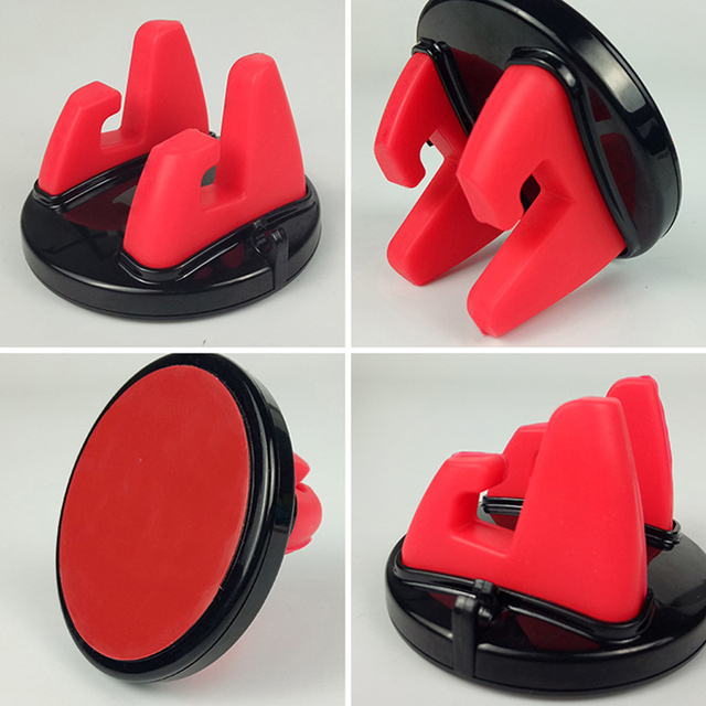Car Phone Holder Stands Rotating Adhesive Support Silicone Table Anti Slip Mount Mobile GPS Adjustable Bracket Universal Auto