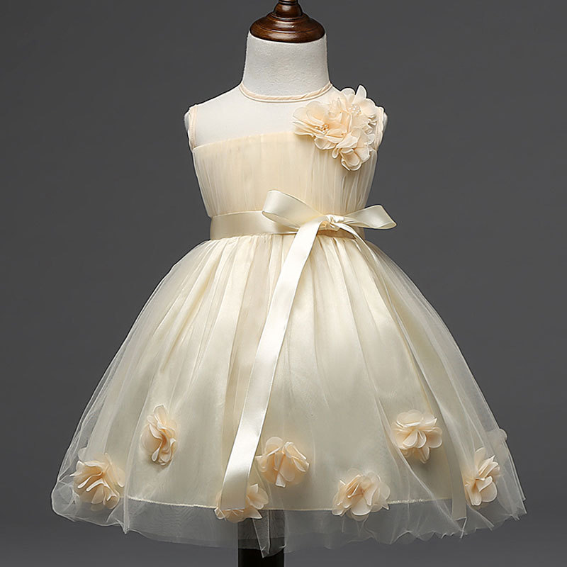 Wedding Party Flower Girls Dresses Tutu Lace Luxury Princess Dress Bow Baby Girls Infant Baptism Ceremonies Dress Birthday Gift разноцветная мозаика кораблик 2604