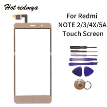 Touch Screen For Xiaomi Redmi Note 4X 2 3 5A 4A LCD TouchScreen Outer Glass Lens Panel Digitizer Sensor+Tools