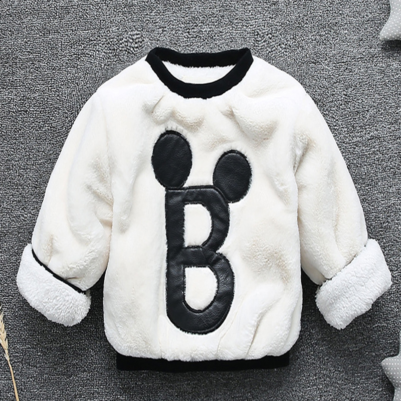 Baby boy girl clothes winter coat jacket plus velvet warm protect clothes coat thickening 0 2 years old Beibei Children 39 s wear in Jackets amp Coats from Mother amp Kids