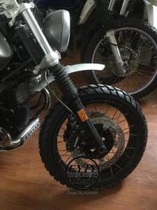 Image 5 - Błotniki motocyklowe ręcznie robione ze stopu Aluminium ze stopu Aluminium Frint błotnik koła przedłużający błotnik dla Benelli Leoncino BJ 150 250 500