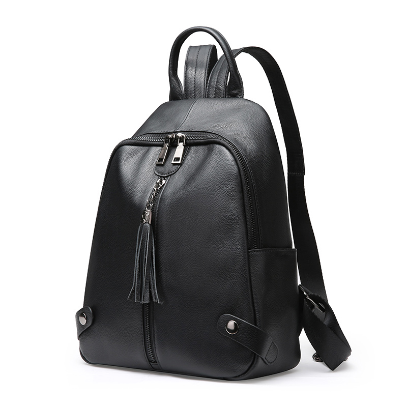 New 2018 Fashion Genuine Leather Backpack Women Bags Preppy Style Backpacks  Girls School Bags Zipper Kanken Leather Back pack - aliexpress.com -  imall.com f11c655444ab1