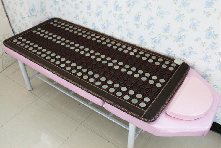 Assistenza sanitaria riscaldamento cuscino di giada Naturale mat tormalina terapia fisica stuoia di giada materasso riscaldato 4 Formato disponibile