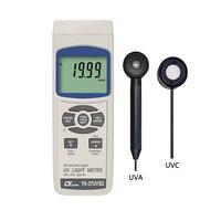 온도 포트 및 데이터 로깅 기능이있는 lutron uva 및 uvc 자외선 라이트 미터 (YK-37UVSD)