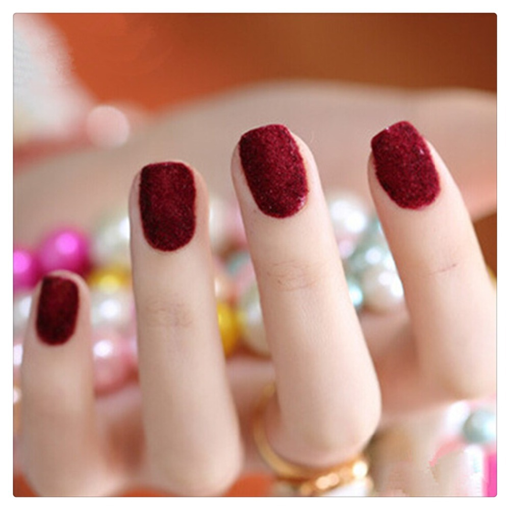 Newest Kit/Set 2 Nail Art Color Dark Blood Red 10ml Gel UV Polish+ ...