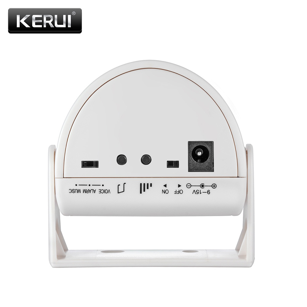 KERUI M5 32 Songs White/Pink/Yellow Infrared Welcome Chime Doorbell Motion Detector Alarm For Home Shop Store usage Doorbell