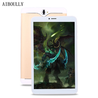 AIBOULLY 7 inch Tablet Original 3G Phone Call Tablets Android 6 1GB RAM 8GB ROM Tablet pc Quad Core Dual Camera Smart Tab 9.7''