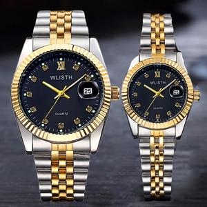Image 5 - Couple Watch 2020 Mens Watches Top Brand Luxury  Quartz Watch Women Clock Ladies Dress Wristwatch Fashion Casual lovers Watch