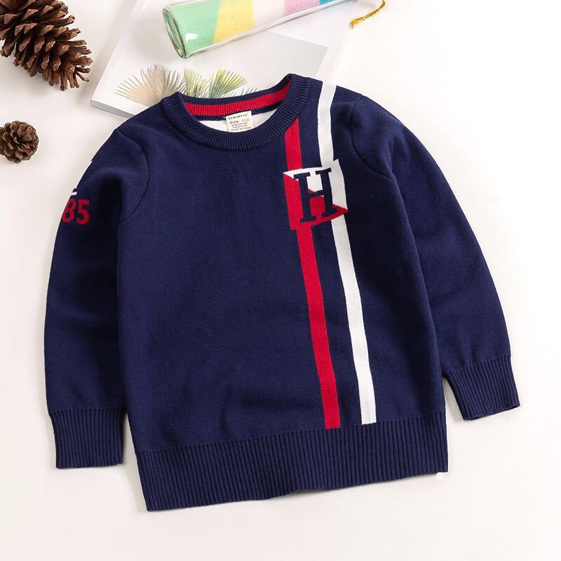 kids sweaters boys striped sweaters children pullover