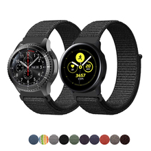 22mm/20mm Nylon strap for samsung galaxy watch active 46mm 42mm S3/S2 Frontier/Classic huami amazfit gt band sport loop bracelet