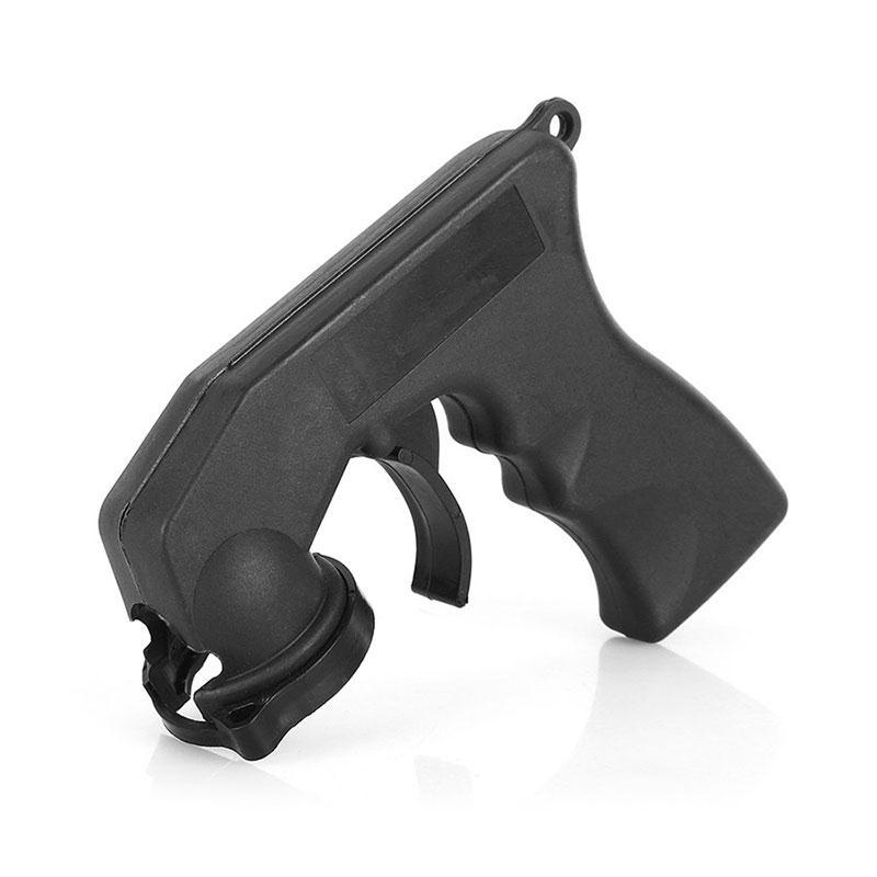 Car Maintenance Portable Car Auto Spray Adaptor Aerosol Spray Gun Handle With Full Grip Trigger Locking Collar Hot