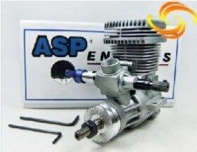 Asp 52hrสองหุ้นnitroเครื่องยนต์สำหรับเฮลิคอปเตอร์(ที่มีท่อไอเสียสำหรับตัวเลือก)-ใน ชิ้นส่วนและอุปกรณ์เสริม จาก ของเล่นและงานอดิเรก บน   1