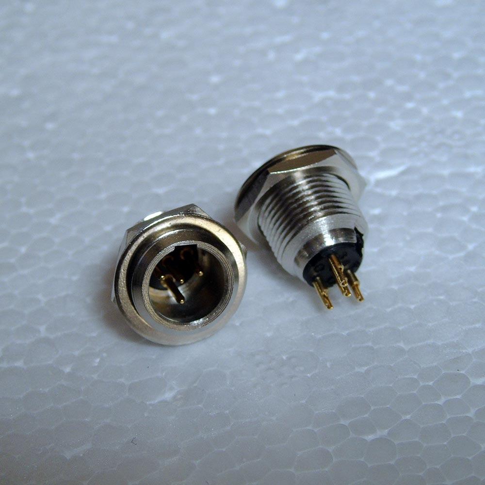 small resolution of high quality 100pcs lot connector mini xlr 4pin male panel socket mini xlr frontmontage einbaustecker kupplung