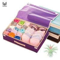 luluhut home storage organization high Quality Non-woven storage box high Quality underwear storage bra box Socks organizer