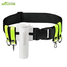Booms Fishing V02 Adjustable Waist Rod Holder Professional Belt Strap Tackle Tools Accessories