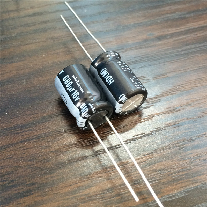 10pcs 680uF 16V NICHICON HD Series 10x16mm Extremely Low Impedance 16V680uF Aluminum Electrolytic Capacitor