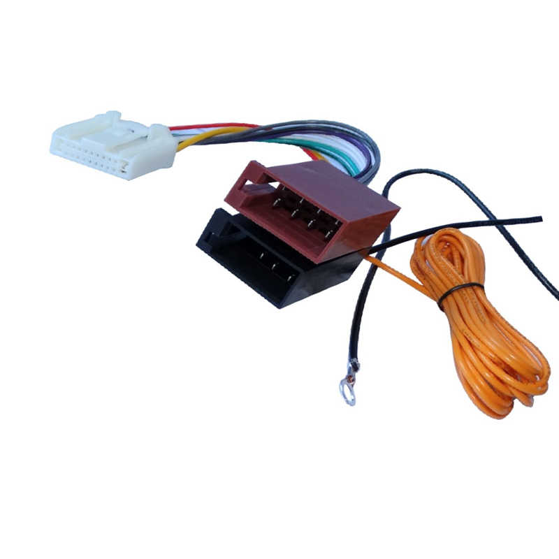 car iso radio wiring harness adaptor cable for nissan altima dualis juke  tiida for subaru forester