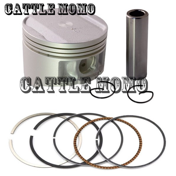 Metal Motorcycle Engine Parts <font><b>Piston</b></font> <font><b>Ring</b></font> & <font><b>Piston</b></font> +100 Cylinder Bore Size <font><b>74mm</b></font> <font><b>Pistons</b></font> & <font><b>Rings</b></font> Kit For Yamaha TTR250 TTR 250 image