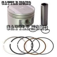 Metal Peças de Motor Da Motocicleta Anel de Pistão Pistão & + 100 Diâmetro Do Cilindro Pistões 74mm & Anéis Kit Para yamaha TTR TTR250 250