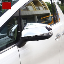 lsrtw2017 car styling abs car rearview cover trims decoration for toyota alphard toyota vellfire 2015 2016 2017 2018 2019 lsrtw2017 car styling stainless steel car rearview trims for toyota alphard toyota vellfire 2015 2016 2017 2018