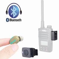 עבור baofeng אוזניות זעירות אוזניות המיניות מכשיר קשר Bluetooth שתי דרך רדיו Little האלחוטית קטנות אוזניות עבור מוטורולה Baofeng Kenwood (1)
