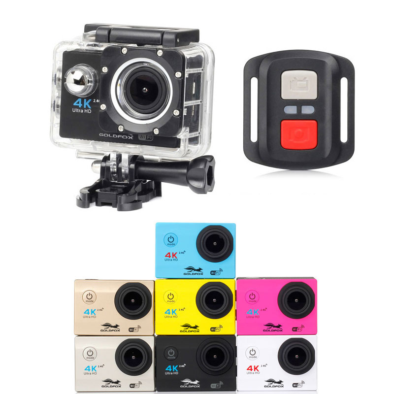 2019 H16R Action Kamera wifi Ultra HD Mini Cam 4K gehen unterwasser Wasserdicht pro <font><b>Video</b></font> Sport Kamera Helm Sport cam image
