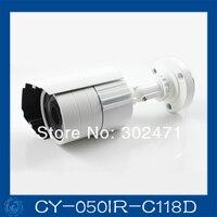 1/4 CMOS 500TVL 20 м ик расстояние 3.6 м объектив открытый установка камер видеонаблюдения живой продаж. CY-050IR-C118D