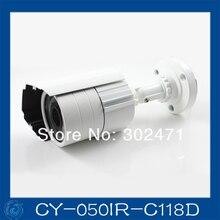1/4 CMOS 500TVL 20m ir distance 3.6m lens outdoor installing cctv cameras live sales.CY-050IR-C118D