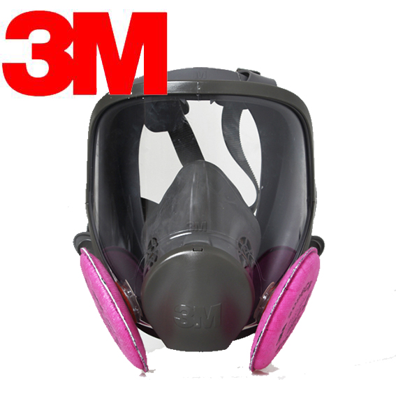 3M 6800+2091 P100 Gas mask/Trace acid gas mask (Hydrogen fluoride gas /C6H6/ Welding smoke )(China)