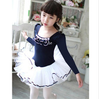 Ballet Tutu Dancewear 2 9 Years Girls Ballet Clothes Dance Costume Toddler Leotard Professional Tutus Ballerina