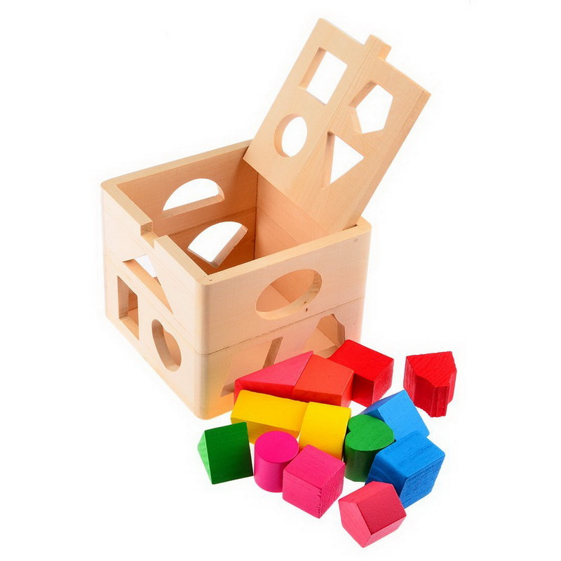 8c165e88cbf3 Kids Baby Educational Toys Wooden Building Block Toddler Toys for Boys  Girls Learning Toy Tool Coordinating Kids Eye And Hand