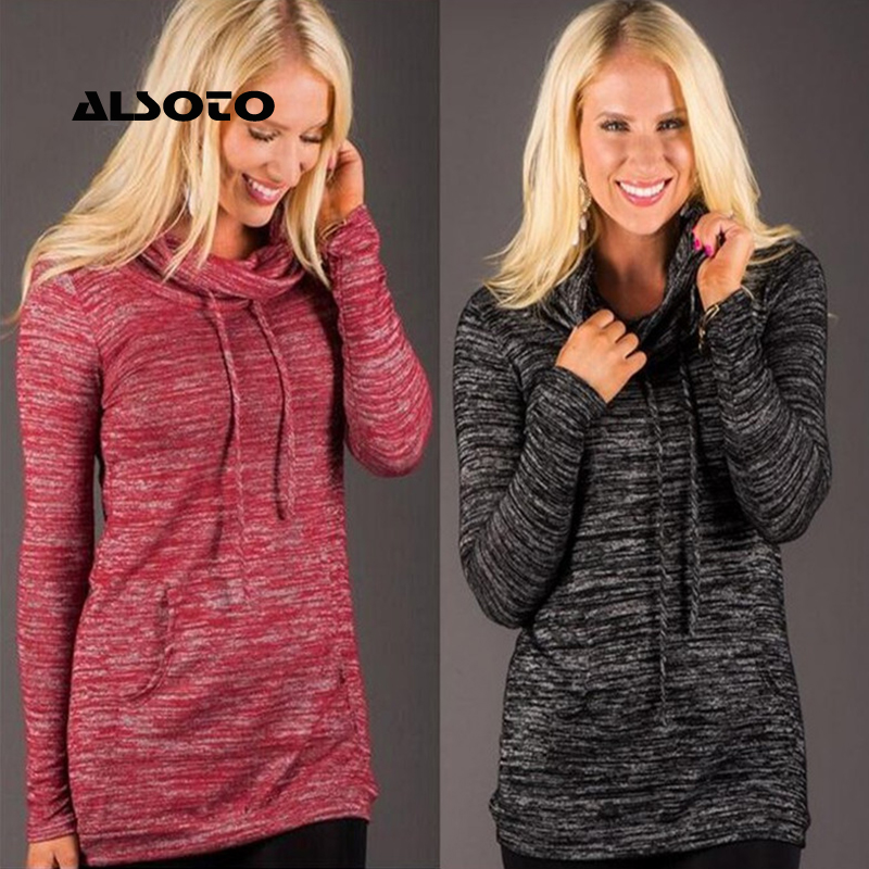 ALSOTO pink women hoodies Sweatshirt pull over long sleeve black and pink pikachu cowl neck with draw cord hoodie