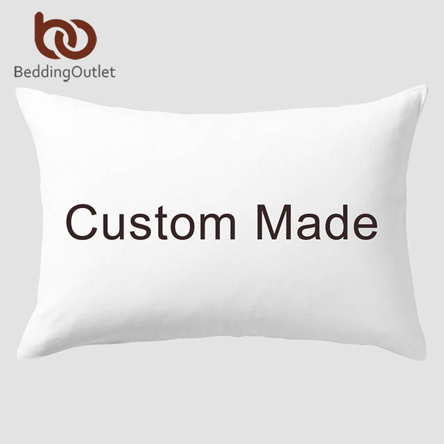 US $13 5 40% OFF|BeddingOutlet Design Customized Pillowcase Dropshipping  Custom Made DIY Print on Demand Pillow Case Bedding Pillow Cover 50x75-in