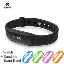 บลูทูธสมาร์ทนาฬิกาE06สำหรับAndroid Samsung Iphoneระยะไกลกล้อง/Pedometer/ป้องกันการสูญเสียสร้อยข้อมือนาฬิกาข้อมือS Martband