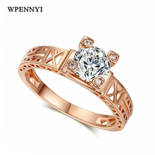 Cubic Ring Gold Color