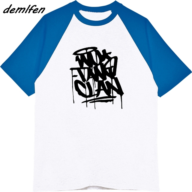 bd5bacb37fb Wu Tang Clan T Shirt Casual Cotton Raglan Sleeve Men T Shirt Hip Hop Vintage  Funny T-shirts Summer Hip Hop Tees Harajuku