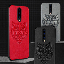 Oneplus 7 pro three-dimensional embossed Cortical animal pattern TPU soft rubber edge Oneplus 5 6 7 5T 6T Phone case