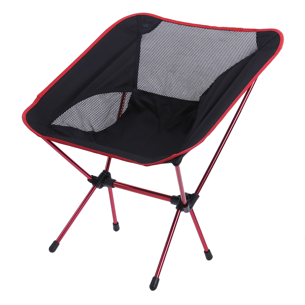 2pcs Lightweight Fishing Chair Professional Folding Camping Portable Lengthen Fishing Ultra lights Chair For Picnic Beach Party