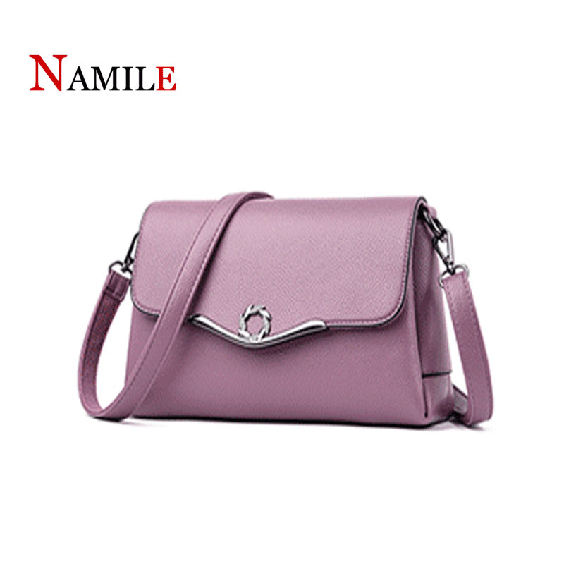 Womens bag 2019 luxury high quality leather leather Messenger bag fashion lychee pattern womens bag Messenger bag shoulder bagWomens bag 2019 luxury high quality leather leather Messenger bag fashion lychee pattern womens bag Messenger bag shoulder bag