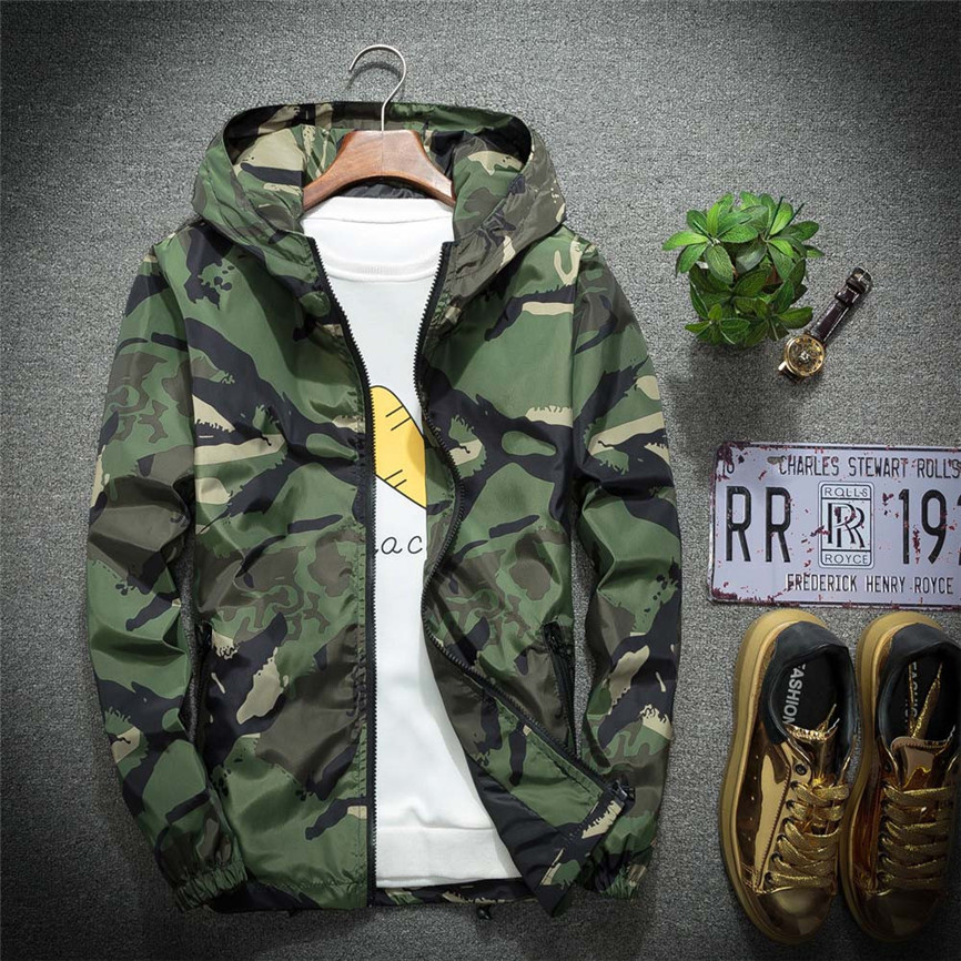 Streetwear Coat Hoodie Soft-Shell Men's Jacket Waterproof Outdoor Winter Camouflage Large-Size