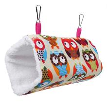 Pet Hammock Hanging Cages for Hamsters Guinea Pig Bird Hanging Nest Bed Pet Parrot Squirrel Cages