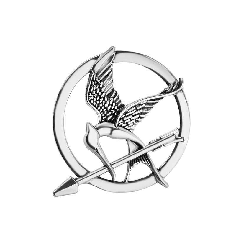 Kualitas Tinggi Kelaparan Permainan Mockingbird Retro Punk Bros Alloy Perhiasan Lencana Terbaik Teman Hadiah Bros Grosir