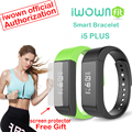 Original iwown i5 más pulsera inteligente compatible con android 4.4 bluetooth 4.0 i5plus ios8.0 sleep monitor de llamadas recuerdan