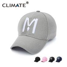 Climate Unique Striking 3D M Logo Baseball Sport Cap Amazing Nice Pink Navy  Black Color Hats For Men Women Unisex Adjustable 2583a5b07b85