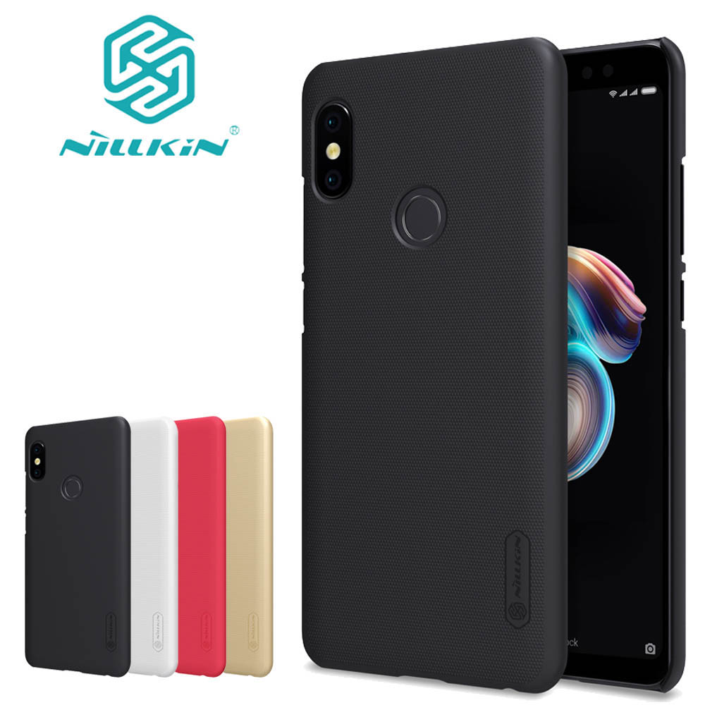 Nilkin Capa for Xiaomi Redmi Note 5 Pro Case Nillkin Frosted Matte Hard PC Plastic Business Phone Bag Cover for Redmi Note 5 Pro