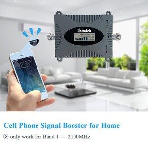 Image 4 - Lintratek puissant 3G amplificateur répéteur de Signal de téléphone portable UMTS 2100 MHz Version de mise à niveau 3G WCDMA répéteur de téléphone Mobile/